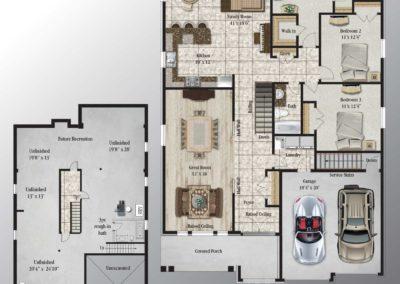 Strathmore Floorplan